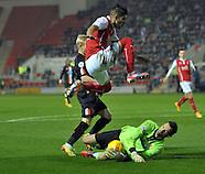 Rotherham United v Blackpool 291114