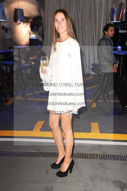 Lulu Barsotti at a party to celebrate 150 years of TAG Heuer held at the car park at Selfridge's, London on 15th September 2010.