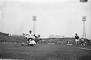 24/05/1964<br /> 05/24/1964<br /> 24 May 1964<br /> Soccer International: Ireland v England at Dalymount Park, Dublin. England won the game 3-1.