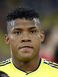 Wilmar Barrios of Colombia during the 2018 FIFA World Cup Russia round of 16 match between Columbia and England at the Spartak stadium  on July 03, 2018 in Moscow, Russia