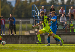 17# Grasic Rok of NK Sencur during the match of 1st. round of Cup Slovenia 2020/21 between NK Sencur an NK Nafta 1903, on 02.09.2020 in Sencur, Slovenia. Photo by Urban Meglič / Sportida