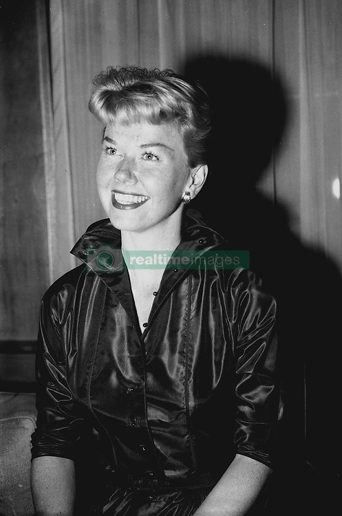File photo dated 12/04/55 of actress Doris Day at Claridge's Hotel in London. The Hollywood legend and singer has died aged 97.