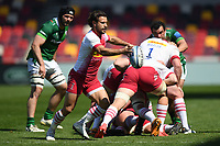 Rugby Union - 2020 / 2021 Gallagher Premiership - Round 17 - London Irish vs Harlequins - Brentford Community Stadium<br /> <br /> Harlequins' Danny Care in action during this afternoon's game.<br /> <br /> COLORSPORT