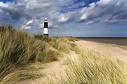July 21, 2019 - Lighthouse On Beach, Humberside, England (Credit Image: © John Short/Design Pics via ZUMA Wire)