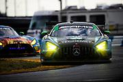 January 30-31, 2021. IMSA Weathertech Series. Rolex Daytona 24h:  #57 Winward Racing, Mercedes-AMG GT3, Russell Ward, Philip Ellis, Indy Dontje, Maro Engel