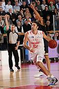 DESCRIZIONE : Reggio Emilia Campionato Lega Basket A2 2011-12  Trenkwalder Reggio Emilia  Givova Scafati<br /> GIOCATORE : Filloy Demien<br /> SQUADRA : Trenkwalder Reggio Emilia<br /> EVENTO : Campionato Lega Basket A2 2011-2012<br /> GARA : Trenkwalder Reggio Emilia   Givova Scafati<br /> DATA : 13/11/2011<br /> CATEGORIA : palleggio<br /> SPORT : Pallacanestro <br /> AUTORE : Agenzia Ciamillo-Castoria/FotoStudio13<br /> Galleria : Lega Basket A2 2011-2012 <br /> Fotonotizia : Reggio Emilia Campionato Lega Basket A2 2011-12  Trenkwalder Reggio Emilia   Givova Scafati<br /> Predefinita :