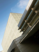 The Kursall Congress Palace, a convention centre designed by Spanish architect Rafael Moneo, in San Sebastian, Spain