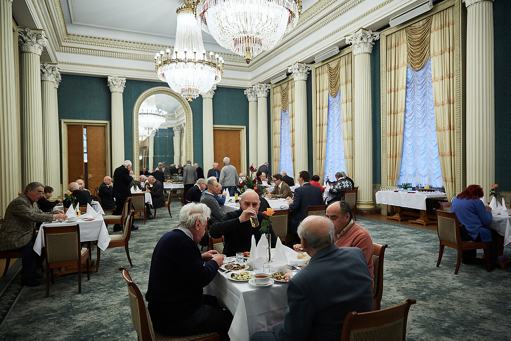 Germany, Berlin 2012/12/20<br /> <br /> Russian Jewish veterans of World War II are invited to a dinner with the embassador of the Russian Federation in Germany.