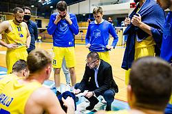 Konstantin Subotić of GGD Sencur during basketball match between GGD Sencur and Zlatorog Lasko in First Round of 1. SKL 2020/21, on October 31, 2020 in Sport hall Sencur, Sencur, Slovenia. Photo by Grega Valancic / Sportida