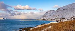 THEMENBILD - Patreksfjöroeur, aufgenommen am 24. Oktober 2019 in Island // Patreksfjöroeur, Iceland on 2019/10/24. EXPA Pictures © 2019, PhotoCredit: EXPA/ Peter Rinderer