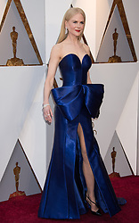 March 4, 2018 - Hollywood, CA, U.S. - 04 March 2018 - Hollywood, California - Nicole Kidman. 90th Annual Academy Awards presented by the Academy of Motion Picture Arts and Sciences held at Hollywood & Highland Center. Photo Credit: A.M.P.A.S./AdMedia (Credit Image: © A.M.P.A.S/AdMedia via ZUMA Wire)