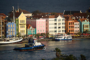 Willemstaad Harbor, Curacao, Netherlands Antilles