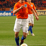 NLD/Amsterdam/20060301 - Voetbal, oefenwedstrijd Nederland - Ecuador, Dirk Kuyt