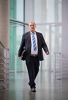 DEU, Deutschland, Germany, Berlin, 27.09.2017: Dr. Heiko Wildberg (MdB, AfD) auf dem Weg zur Fraktionssitzung der AfD-Bundestagsfraktion im Deutschen Bundestag.