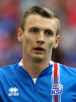Uefa - World Cup Fifa Russia 2018 Qualifier / <br /> Iceland National Team - Preview Set - <br /> Jon Dadi Bodvarsson
