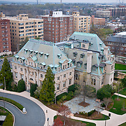 National Cathedral School as seen from the Pilgrim Observatory