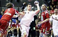 Håndball , 16. juni 2012 , EM kvalifisering<br /> Norge - Ungarn<br /> Norway - Hungary<br /> Gabor Csaszar , Ungarn
