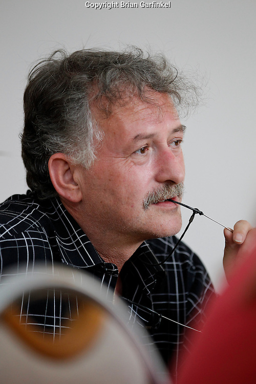 Peter in his house in Zilina, Slovakia on Saturday July 2nd 2011. (Photo by Brian Garfinkel)