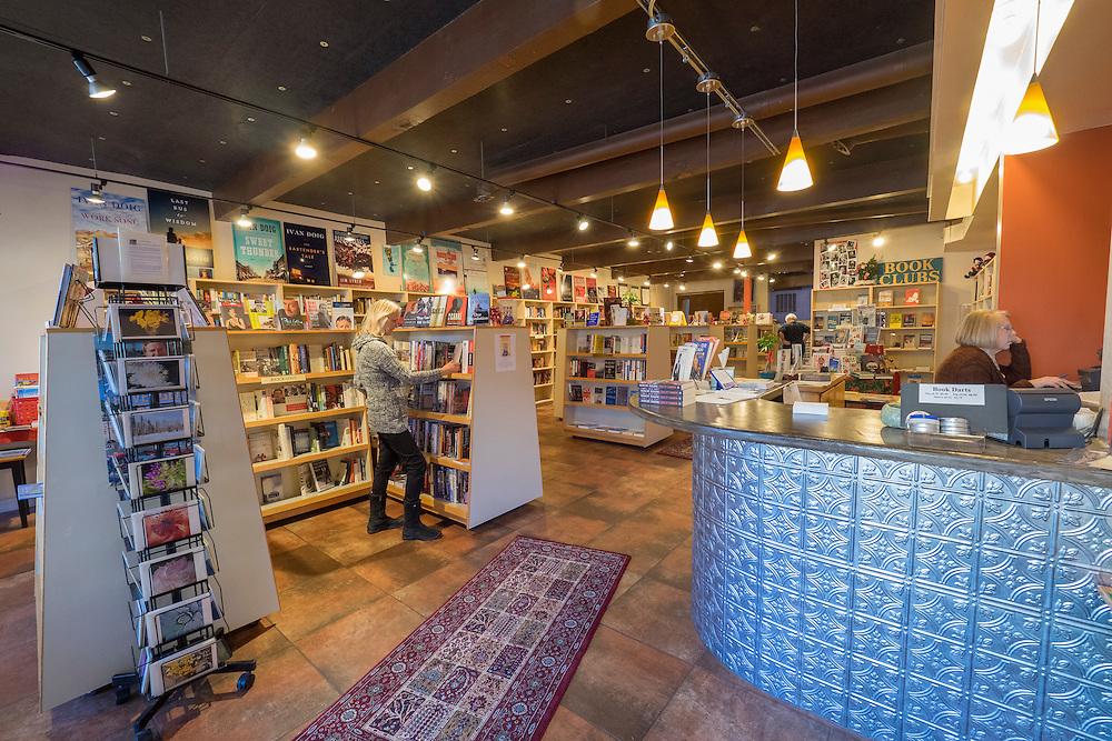 United States, Washington, Kirkland, Book Tree book store on Market Street
