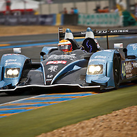Nick Leventis/Danny Watts/Jonny Kane were forced to retire after just 144 laps in the No.42 Strakka Racing HPD ARX 01D at Le Mans in 2011