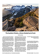 The Wild Cascades: The Southern Pickets, a Fence Chiseled out of Rock (Winter 2018)