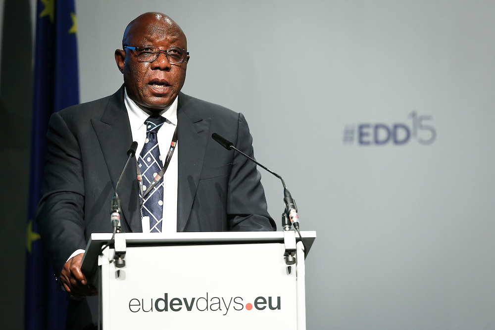 03 June 2015 - Belgium - Brussels - European Development Days - EDD - Human Rights - Sustainable Development Goal - What role for the National Human Rights Institutions? - Mabedle Lawrence Mushwana , Chairperson , International Coordinating Committee for National Human Rights Institutions © European Union