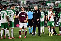 Football - 2021 / 2022 UEFA Europa League - Group H - Round Two - West Ham United vs Rapid Vienna - London Stadium - Thursday 30th September<br /> <br /> West Ham United manager David Moyes  at the final whistle.<br /> <br /> COLORSPORT/Ashley Western