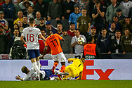 Goal Netherlands forward Quincy Promes (Sevilla) scores a goal 2-1 during the UEFA Nations League semi-final match between Netherlands and England at Estadio D. Afonso Henriques, Guimaraes, Portugal on 6 June 2019.