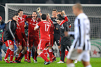 Fotball<br /> Foto: Inside/Digitalsport<br /> NORWAY ONLY<br /> <br /> esultanza bayern, delusione cannavaro<br /> <br /> Juventus v Bayern München<br /> Torino 08/12/2009 <br /> Champions League 2009/2010