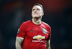 """File photo dated 19-09-2019 of Manchester United's Phil Jones. Manchester United defender Phil Jones believes young players coming into the game now have to be mentally capable of handling the """"toxic"""" environment of social media after he turned his back on his online presence. Issue date: Monday October 11, 2021."""