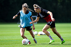 Yana Daniels and Georgia Wilson during training at Failand - Mandatory by-line: Robbie Stephenson/JMP - 26/09/2019 - FOOTBALL - Failand Training Ground - Bristol, England - Bristol City Women Training