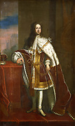 George I (1660-1727) King of Great Britain and Ireland from 1714. Elector of Hanover from1698. First Hanoverian king of Great Britain. Portrait by Godfrey Kneller (1646-1723). Private collection