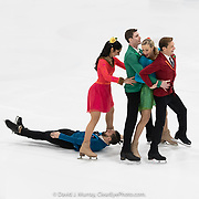 Ice Dance International performing A Blade Of Sunshine, Choreographed by Trey McIntyre, in Portland, ME, February 2020