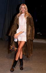 Elena Perminova attending the Burberry London Fashion Week Show at Makers House, Manette Street, London.