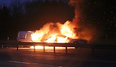 M40 Fire Ball Crash
