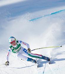 12.01.2013, Karl Schranz Abfahrt, St. Anton, AUT, FIS Weltcup Ski Alpin, Abfahrt, Damen im Bild Nadia Fanchini (ITA) // Nadia Fanchini of Italy in action during ladies Downhill of the FIS Ski Alpine World Cup at the Karl Schranz course, St. Anton, Austria on 2013/01/12. EXPA Pictures © 2013, PhotoCredit: EXPA/ Johann Groder
