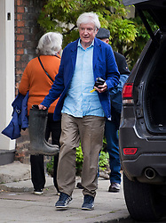 © Licensed to London News Pictures. 04/06/2021. Henley-on-Thames, UK. Former BBC Director-General TONY HALL pictured outside his Oxfordshire home. It is the first time Tony Hall, Baron Hall of Birkenhead, has been seen since the release of Lord Dyson's report in to allegations that BBC journalist Martin Bashir used forged bank statement to arrange a Panorama interview with Princess Diana in 1995. Photo credit: Ben Cawthra/LNP