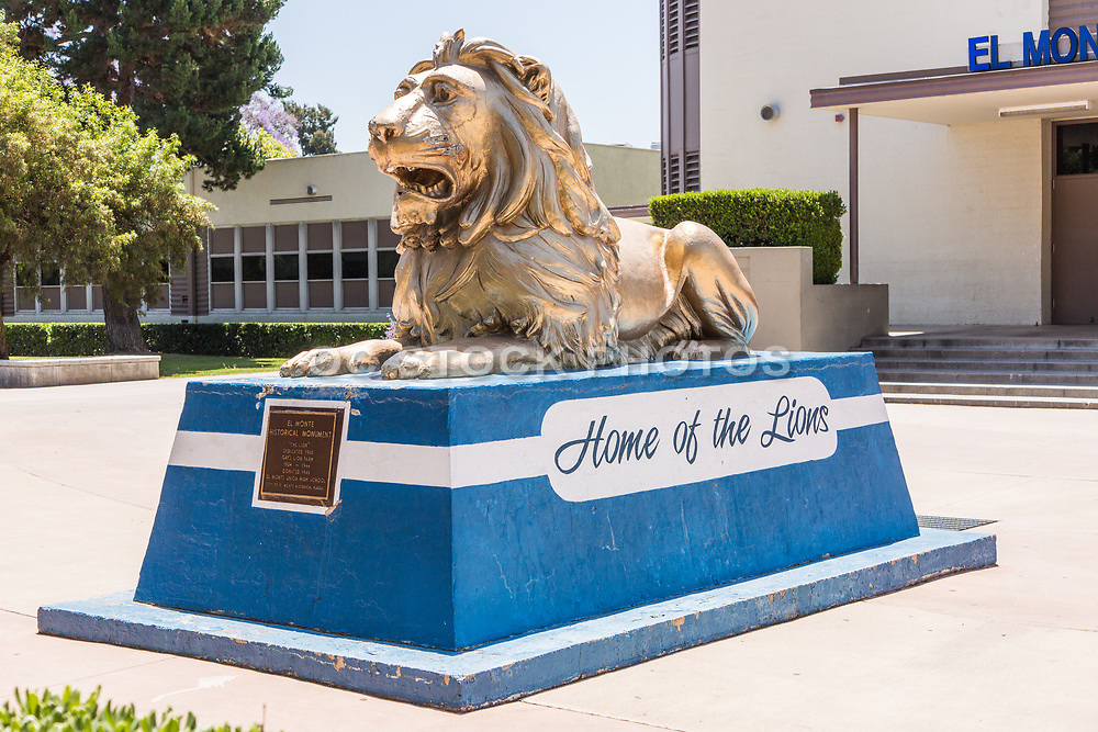 El Monte High School Mascot Monument