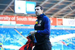 Bournemouth's Charlie Daniels during the Premier League match at the Cardiff City Stadium.