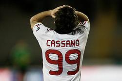 Lecce (LE), 16-01-2011 ITALY - Italian Soccer Championship Day 20 -  Lecce - Milan..Pictured: Cassano (M)..Photo by Giovanni Marino/OTNPhotos . Obligatory Credit