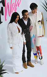 June 19, 2018 - Los Angeles, California, USA - 6/18/18.Imran Amed, Kim Kardashian West and Kris Jenner speak onstage during the ''Creating Cultural Moments'' panel at the BoF West Summit at Westfield Century City, CA. (Credit Image: © Starmax/Newscom via ZUMA Press)