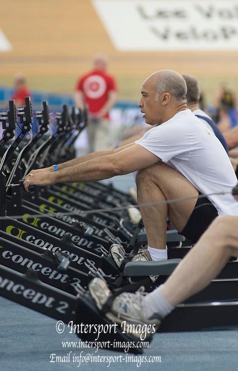 London. United Kingdom.    2015 British Rowing Indoor Championships.[BRIC].<br /> Lee Valley Velopark. former 2012 Olympic Cycling Velodrome.  Sunday  08/02/2015<br /> <br /> [Mandatory Credit; Peter SPURRIER/Intersport Images]