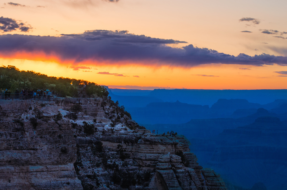 Some of the most amazing sunsets I have ever seen were in The Grand Canyon Arizona.