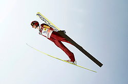 17.03.2012, Planica, Kranjska Gora, SLO, FIS Ski Sprung Weltcup, Team Skifliegen, im Bild Aleksander Zniszczol (POL),   during the FIS Skijumping Worldcup Flying Hill Team, at Planica, Kranjska Gora, Slovenia on 2012/03/17. EXPA © 2012, PhotoCredit: EXPA/ Oskar Hoeher.