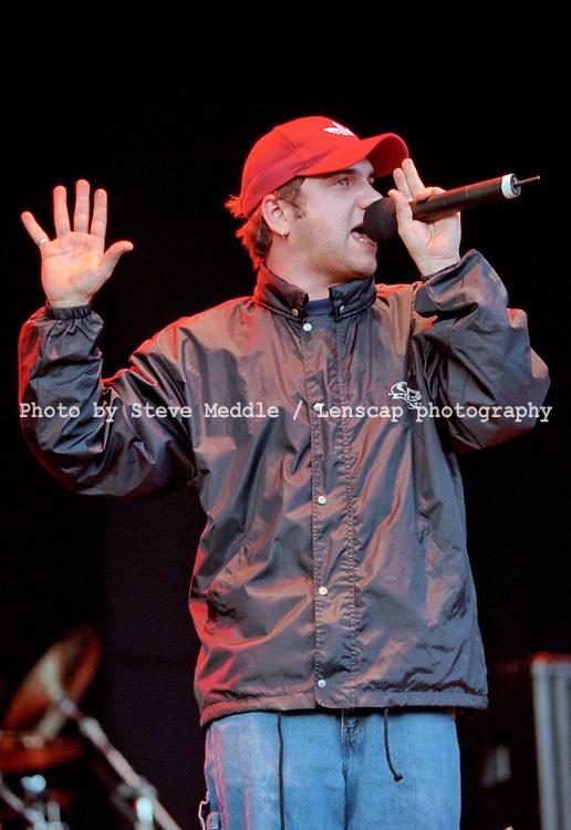 Bloodhound Gang - Jimmy Pop / V Festival 2000, Hylands Park, Chelmsford, Essex, Britain - August 2000.