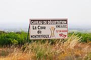 La Cave de Montpeyroux - the local cooperative. Montpeyroux. Languedoc. France. Europe.