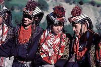 Pakistan, Khyber Pakhtunkhwa, Region de Chitral, Tribu Kalash, Fête de Utchao, sacrifice d une chevre // Kalash ethnic group,Rumbur valley, Chitral area, Khyber Pakhtunkhwa, Pakistan, Summer festival (Utchao), Goat sacrifice