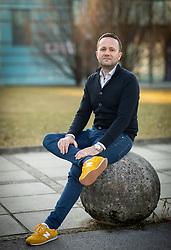 Portrait of izr. prof. dr. Sebastjan Kristovič, Alma Mater Europaea – ECM, on February 15, 2019 in Ljubljana, Slovenia. Photo by Vid Ponikvar / Sportida