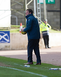 St Johnstone manager Tommy Wright. St Johnstone 1 v 2 Aberdeen. SPFL Ladbrokes Premiership game played 15/4/2017 at St Johnstone's home ground, McDiarmid Park.