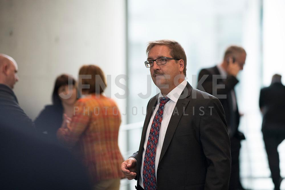 DEU, Deutschland, Germany, Berlin, 26.09.2017: Martin Hebner (MdB, AfD) vor der ersten Fraktionssitzung der AfD-Bundestagsfraktion im Deutschen Bundestag.